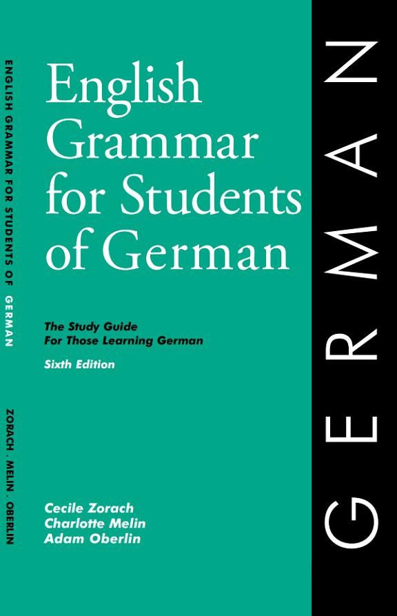 German Grammar Book - English Grammar for Students of German