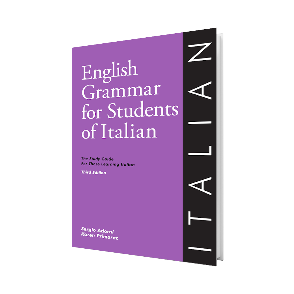 English Grammar for Students of Italian - Third Edition
