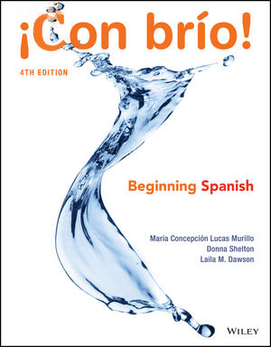 ¡Con Brío! 4th Edition - Front Cover