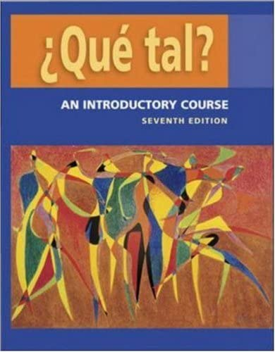 ¿Qué Tal? 7th Edition - Front Cover