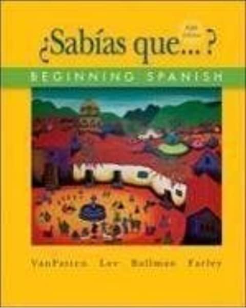 ¿SABÍAS QUÉ . . . ? 5th Edition - Front Cover