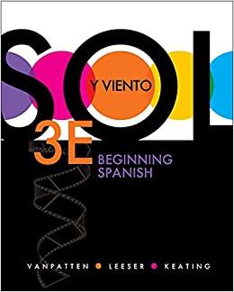 ¿Sol Y Viento 3rd Edition - Front Cover