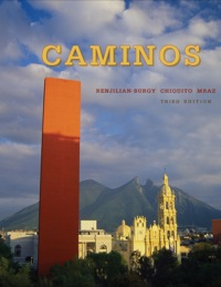 Caminos 3rd edition - Front Cover