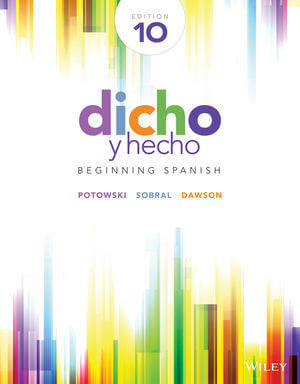 Dicho-Y-Hecho 10th Edition - Front Cover