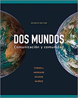 Dos Mundos 7th Edition - Front Cover