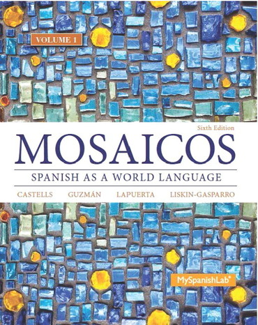 Mosaicos 6th Edition - Front Cover