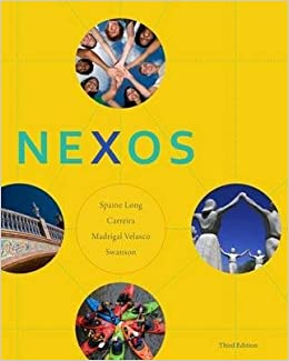 Nexos 3rd Edition - Front Cover