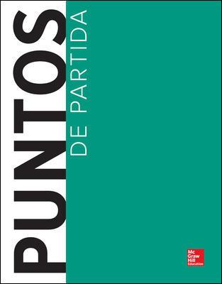 Puntos De Partida 10th Edition - Front Cover