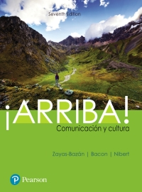 Arriba 7th edition front cover