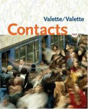 Valette Contacts 9th Edition - French Grammar Book
