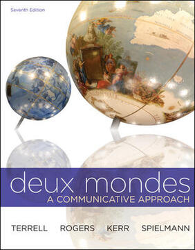 Deux Mondes - A Communicative Approach (7th Edition)